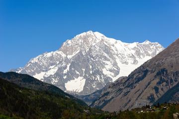 Il Monte Bianco - Versante Italiano