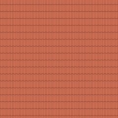 Pantile, roof tile - seamless tileable