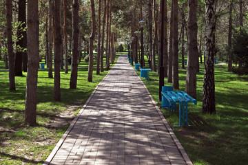 Almaty - Presidents park
