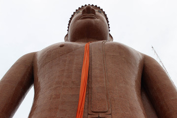 Big Buddha Statue at Thai Temple