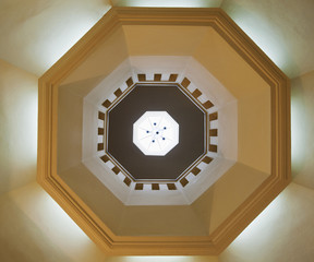 Ceiling Of An Octagonal Dome