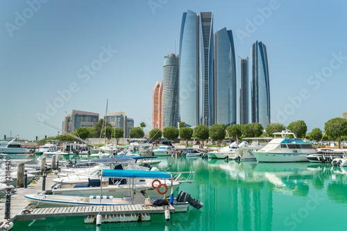 Foto op Canvas Abu Dhabi Al Bateen marina in Abu Dhabi