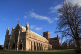 St Albans Cathedral, Hertfordshire, England poster