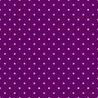 Tile vector patternwhite polka dots on violet background