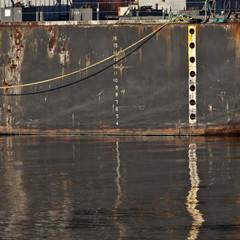 Depth Markings on a Dock
