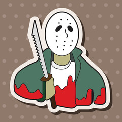 Mask killer theme elements