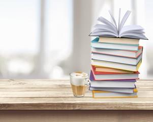 Book. Books stack