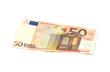 Leinwanddruck Bild - 50 Euro Schein