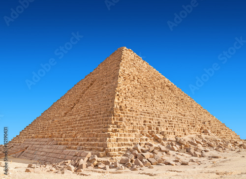 Pyramid of Khufu, Giza.