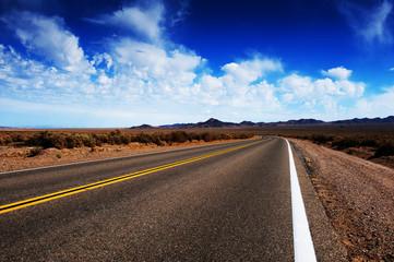 Road Through Rural Area