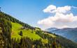 Leinwanddruck Bild - Alm in Südtirol
