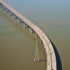 Elevated Highway over Water