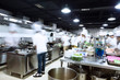 modern kitchen and busy chefs - 82194814