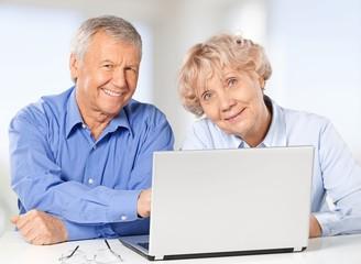 Senior Adult. Senior Couple