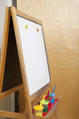 Easel in Classroom