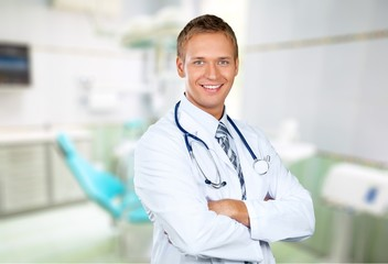 Doctor. Caring health care professional