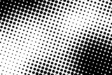 Halftone bearded man