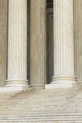 Front Steps and Columns of the Supreme Court