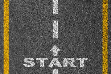 Start on the road