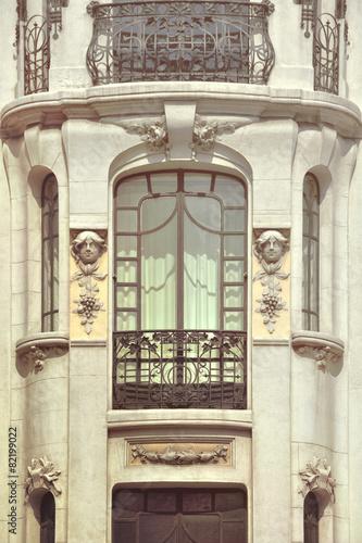 Old building in Madrid, Spain