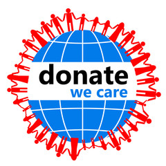 Donate! Because we care!