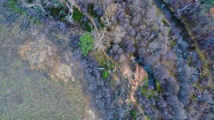 Oak Creek top view