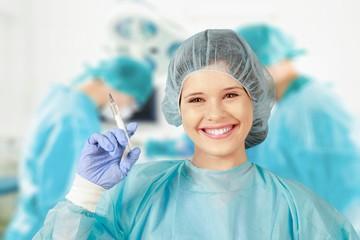 Syringe. Healthcare