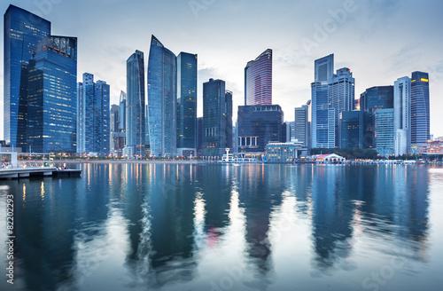 Aluminium Singapore Cityscape Singapore