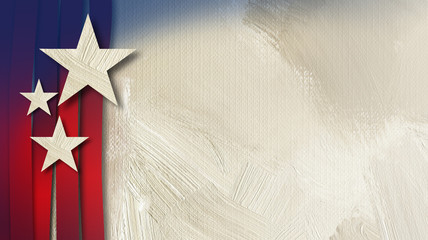 American Stars w vert Stripes abstract background2