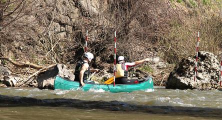 White water rafting, kayaking