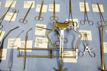 Labeled Surgical Tools