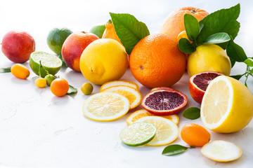 Fresh citrus fruits © sarsmis