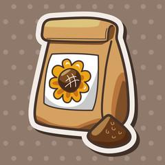 gardening fertilizer theme elements