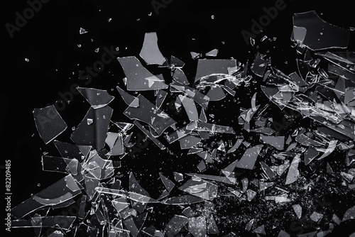Broken Glass - 82209485