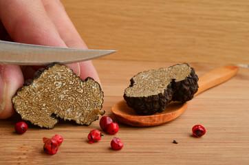 Truffle cutting