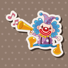 circus clown theme elements