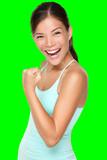 Fitness woman - fresh energy