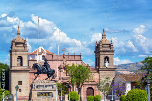 Zdjęcia na płótnie, fototapety, obrazy : Ayacucho Plaza de Armas