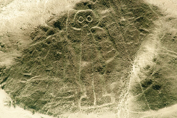 The Astronaut - Nasca Lines
