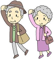 老夫婦旅行