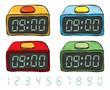 digital clock - 82224820