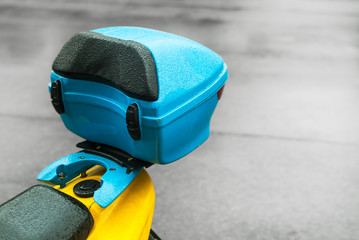 Koffer Case auf Motorrad
