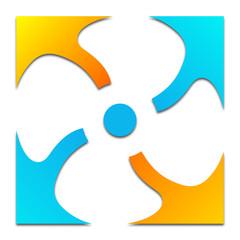 logo climatisation ventilation