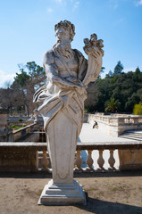 Jardin de la fontaine, Nîmes.