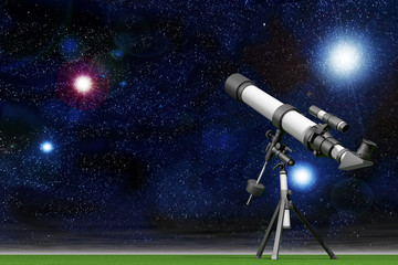 Telescope with a Sky full of Stars