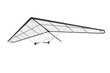 Extreme Closeup Hang Gliding - 82227690