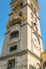 Messina Duomo Cathedral Spire, Italy Sicily