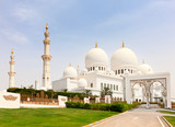Fototapeta Sheikh Zayed mosque