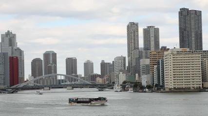 View of buildings in tokyo bay area