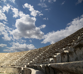 Amphitheater in Jerash (Gerasa of Antiquity),Jordan